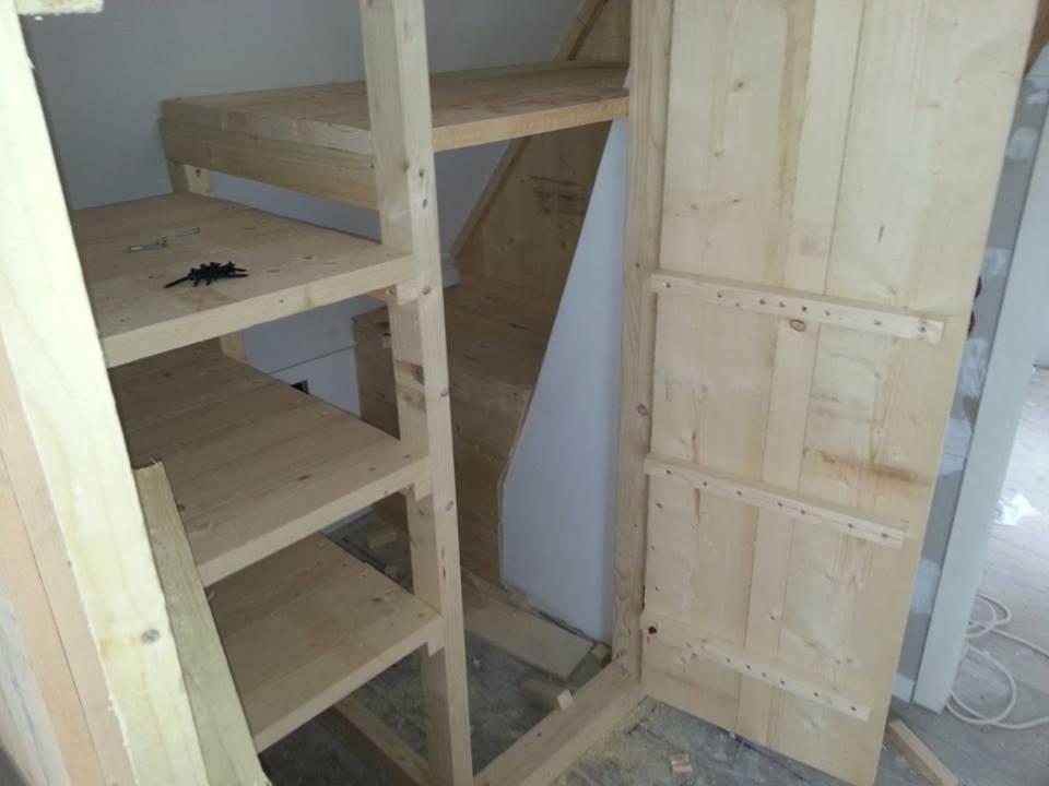 Steigerhouten meubels slaapkamer